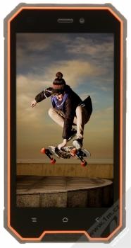 iGET BLACKVIEW GBV4000 oranžová (sunshine orange) zepředu