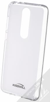 Kisswill TPU Open Face silikonové pouzdro pro Nokia 5.1 Plus bílá průhledná (white)