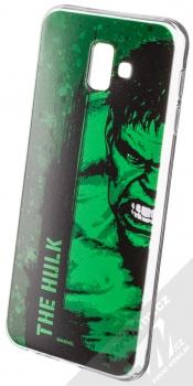 Marvel Hulk 001 TPU ochranný silikonový kryt s motivem pro Samsung Galaxy J6 Plus (2018) zelená (green)