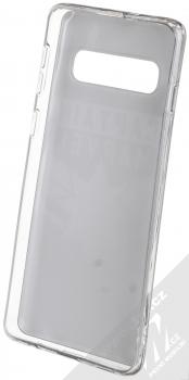 Marvel Kapitánka Marvel 015 TPU ochranný silikonový kryt s motivem pro Samsung Galaxy S10 černá (black) zepředu