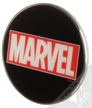Marvel Logo 002 Fast Wireless Charging Pad podložka pro bezdrátové nabíjení černá (black) seshora
