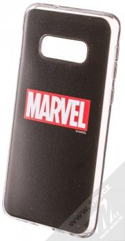 Marvel Logo 002 TPU ochranný silikonový kryt s motivem pro Samsung Galaxy S10e černá (black)