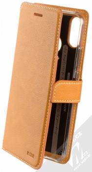 Molan Cano Issue Diary flipové pouzdro pro Huawei Nova 3i hnědá (brown)