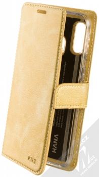 Molan Cano Issue Diary flipové pouzdro pro Samsung Galaxy A40 zlatá (gold)