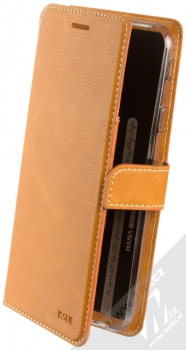 Molan Cano Issue Diary flipové pouzdro pro Samsung Galaxy J4 Plus (2018) hnědá (brown)