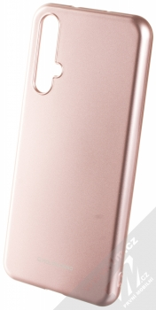 Molan Cano Jelly Case TPU ochranný kryt pro Honor 20, Huawei nova 5T růžově zlatá (rose gold)
