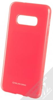 Molan Cano Jelly Case TPU ochranný kryt pro Samsung Galaxy S10e sytě růžová (hot pink)