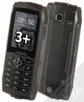 MYPHONE HAMMER 3 PLUS černá (black)