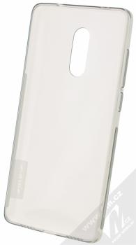 Nillkin Nature TPU tenký gelový kryt pro Xiaomi Redmi Note 4 (Global Version) šedá (transparent grey) zepředu