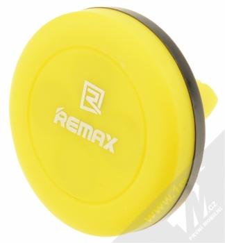 Remax RM-C10 magnetický držák do mřížky ventilace v automobilu pro mobilní telefon, mobil, smartphone, tablet černo žlutá (black yellow)