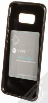 Roar LA-LA Glaze TPU ochranný kryt pro Samsung Galaxy S8 Plus černá (black) zepředu