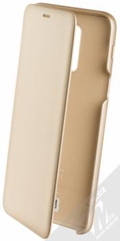 Samsung EF-WA605CF Wallet Cover originální flipové pouzdro pro Samsung Galaxy A6 Plus (2018) zlatá (gold)