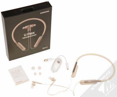 Samsung EO-BG950CW U Flex Bluetooth Stereo headset bílá (white) balení