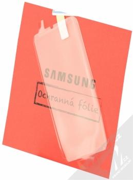 Samsung EP-WG95BBB Starter Kit originální sada stojánku pro bezdrátové nabíjení, ochranného krytu a fólie pro Samsung Galaxy S8 černá černá (black black) ochranná fólie