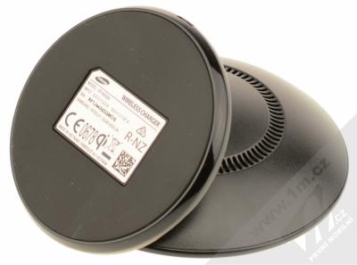 Samsung EP-WG95BBB Starter Kit originální sada stojánku pro bezdrátové nabíjení, ochranného krytu a fólie pro Samsung Galaxy S8 černá černá (black black) stojánek zezdola