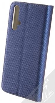 Sligo Smart Magnet flipové pouzdro pro Honor 20 tmavě modrá (dark blue) zezadu