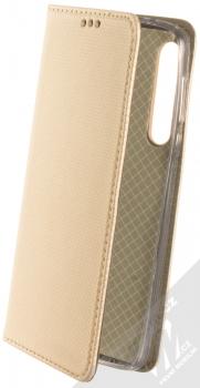 Sligo Smart Magnet flipové pouzdro pro Moto G8 Play, One Macro zlatá (gold)