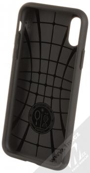 Spigen Core Armor odolný ochranný kryt pro Apple iPhone X, iPhone XS černá (black) zepředu