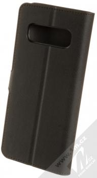 Spigen La Manon Wallet flipové pouzdro pro Samsung Galaxy S10 Plus černá (saffiano black) zezadu