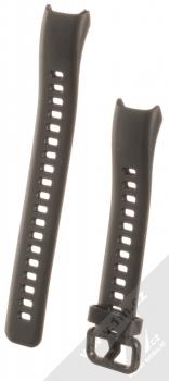 Tactical Single Color Strap silikonový pásek na zápěstí pro Huawei Band 4 černá (black)