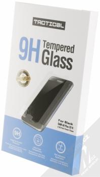 Tactical Tempered Glass ochranné tvrzené sklo na kompletní displej pro Samsung Galaxy A6 Plus (2018) černá (black) krabička