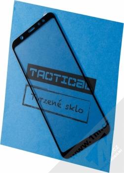 Tactical Tempered Glass ochranné tvrzené sklo na kompletní displej pro Samsung Galaxy A6 Plus (2018) černá (black)