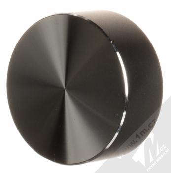 USAMS U-Bin ochranné pouzdro a samonavíjecí USB kabel s Apple Lightning konektorem černá (black) složené