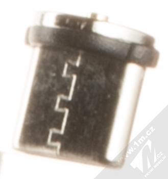 USAMS U-Sure Type-C Plug samostatná magnetická záslepka s USB Type-C konektorem černá (black) zezadu