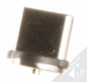 USAMS U-Sure Type-C Plug samostatná magnetická záslepka s USB Type-C konektorem černá (black)