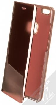 Vennus Clear View flipové pouzdro pro Huawei P10 Lite růžová (pink)