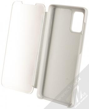 Vennus Clear View flipové pouzdro pro Samsung Galaxy A71 stříbrná (silver) otevřené