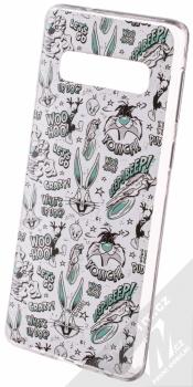 Warner Bros Looney Tunes 004 TPU ochranný silikonový kryt s motivem pro Samsung Galaxy S10 bílá (white)