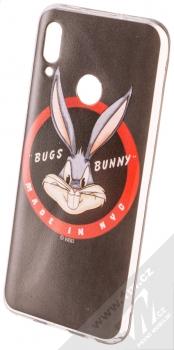 Warner Bros Looney Tunes Bugs Bunny 006 TPU ochranný silikonový kryt s motivem pro Huawei P Smart (2019) černá (black)