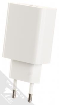 Xiaomi MDY-10-EF originální nabíječka do sítě s USB výstupem 3A a originální USB kabel s USB Type-C konektorem bílá (white) nabíječka USB zezadu