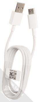 Xiaomi MDY-10-EF originální nabíječka do sítě s USB výstupem 3A a originální USB kabel s USB Type-C konektorem bílá (white) USB kabel komplet
