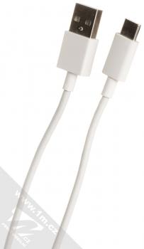 Xiaomi MDY-10-EF originální nabíječka do sítě s USB výstupem 3A a originální USB kabel s USB Type-C konektorem bílá (white) USB kabel konektory