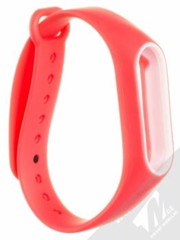Xiaomi Strap silikonový pásek na zápěstí pro Xiaomi Mi Band 2 červená (red)