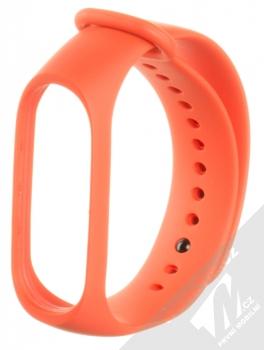 Xiaomi Strap silikonový pásek na zápěstí pro Xiaomi Mi Band 3 oranžová (orange)