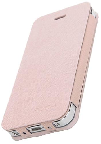 Rock Texture flipové pouzdro pro Apple iPhone 5 a Apple iPhone 5S pink 3243085fdf7