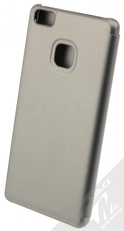 Huawei Folio Flip originální flipové pouzdro pro Huawei P9 Lite šedá (grey)  zezadu 65545150c55