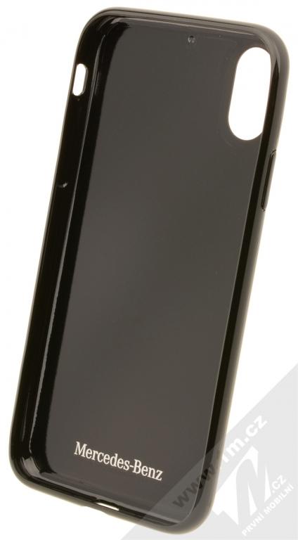 Mercedes Shiny Dynamic Carbon ochranný kryt pro Apple iPhone X  (MEHCPXRCABK) černá (black 5028336d419