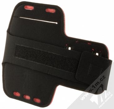 1Mcz Armband2 sportovní pouzdro na paži pro mobilní telefon od 5.0 do 6.0 palců červená (red) zezadui