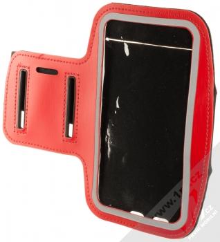1Mcz Armband2 sportovní pouzdro na paži pro mobilní telefon od 5.0 do 6.0 palců červená (red)