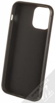 1Mcz Carbon Protect TPU ochranný kryt pro Apple iPhone 12, iPhone 12 Pro černá (black) zepředu
