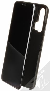 1Mcz Clear View flipové pouzdro pro Honor 20 Pro černá (black)