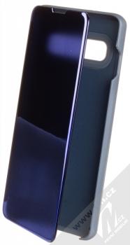 1Mcz Clear View flipové pouzdro pro Samsung Galaxy S10 modrá (blue)