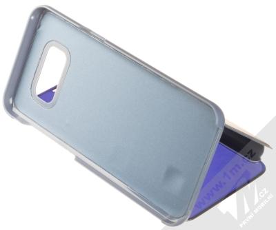 1Mcz Clear View flipové pouzdro pro Samsung Galaxy S8 Plus modrá (blue) stojánek
