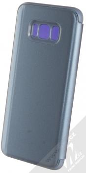 1Mcz Clear View flipové pouzdro pro Samsung Galaxy S8 Plus modrá (blue) zezadu
