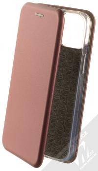 1Mcz Elegance Book flipové pouzdro pro Apple iPhone 13 mini tmavě červená (dark red)