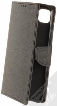 1Mcz Fancy Book flipové pouzdro pro Xiaomi Redmi 9C černá (black)